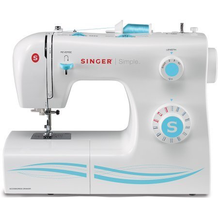 Singer 2263 Simple Factory Serviced 23-Stitch Sewing Machine with Accessories (Singer Sewing Machine Hard Case compare prices)