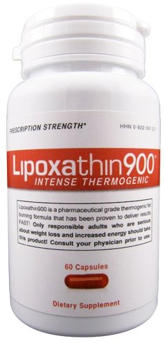 Lipoxathin900 Hardcore Energy and Weight Loss Supplement - Pharmaceutical Strength Diet Pill