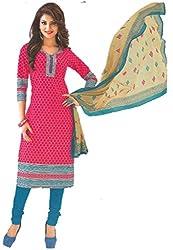 Design Willa Classic Cotton Dress Material (DW081)
