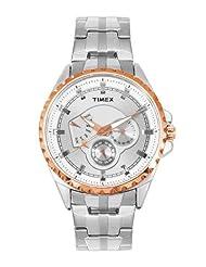 Timex E Class Retrograde Chronograph Silver Dial Men's Watch I402