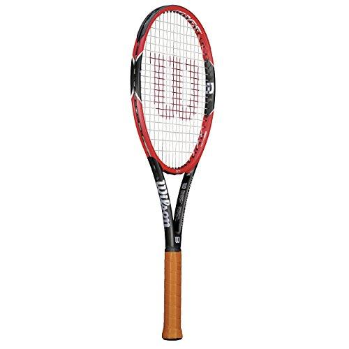 Wilson Pro Staff - Raqueta , color rojo / negro, talla 3