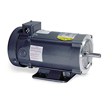 Baldor electric cd7503 215c frame tefc general purpose dc for Motor baldor 20 hp