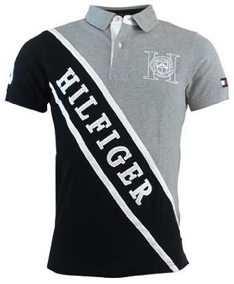 (新品)汤米Tommy Hilfiger 男士POLO短袖 Custom Fit Logo Polo $54.99 认证第三方