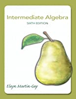 Intermediate Algebra, 6th Edition Front Cover