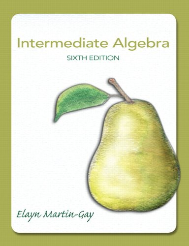 Intermediate Algebra (6th Edition) Chapter 6 - Section 6 5 - Solving