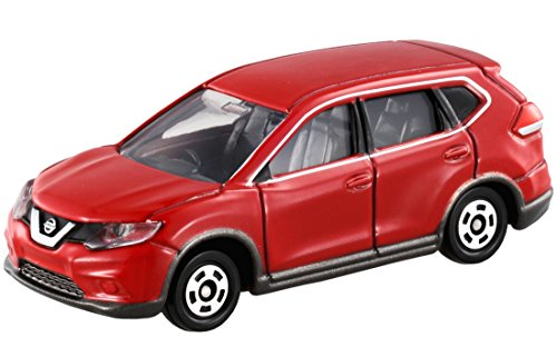 Takara Tomy Tomica No.21 Nissan X-Trail Scale 1 : 63 Red - 1