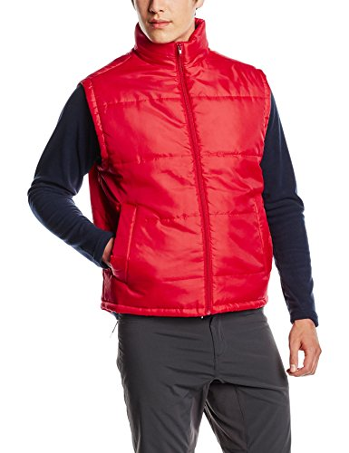 Result Men's Core Red Bodywarmer Plain Sleeveless Gilet - XS to XXL