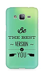 Amez Be the Best version of Yourself Back Cover For Samsung Galaxy J2