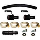 "Heater Hose Repair Kit For 95-02 V6 Camaro/Firebirds With 3/4"" And 5/8"" Heater Hoses."
