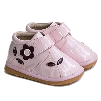 """LBL Infant Squeaky Shoes """"Georgia"""" (24, Pink)"""