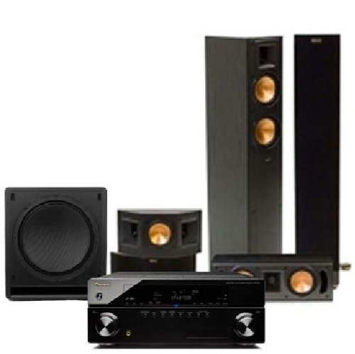 klipsch speaker bundle pioneer vsx 1120 k receiver klipsch sw 112 subwoofer 2. Black Bedroom Furniture Sets. Home Design Ideas
