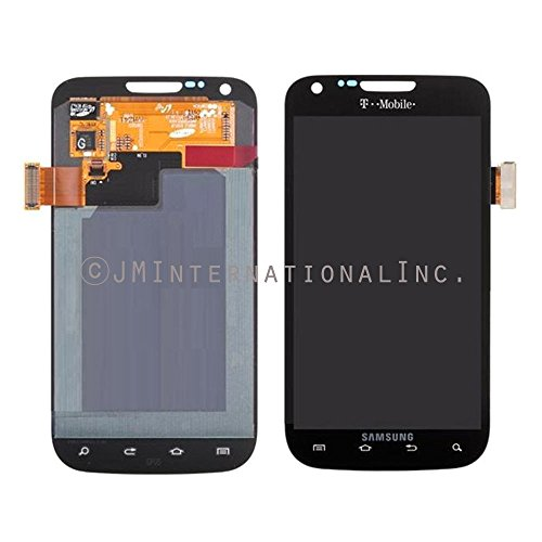 Epartsolution-Samsung Galaxy S2 Sgh-T989 Lcd Touch Screen Digitizer Assembly Black Replacement Part Usa Seller