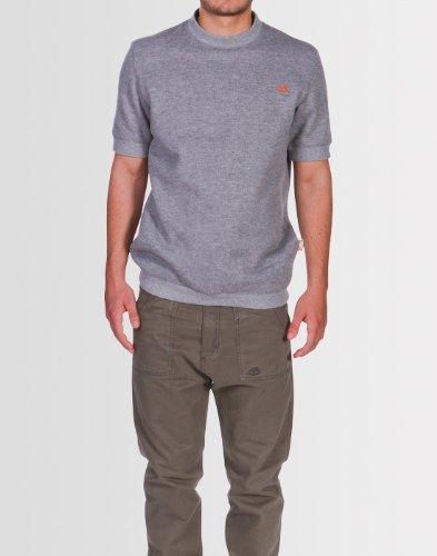 Kear and Ku Mens Nyc Sweatshirt Grey : Light Grey Marl - Xl