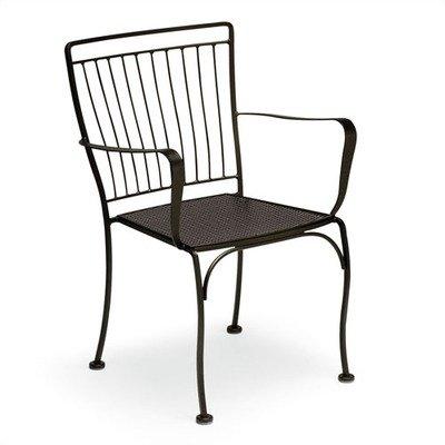 Woodard 1N0009 Easton Stackable Bistro Arm Chair