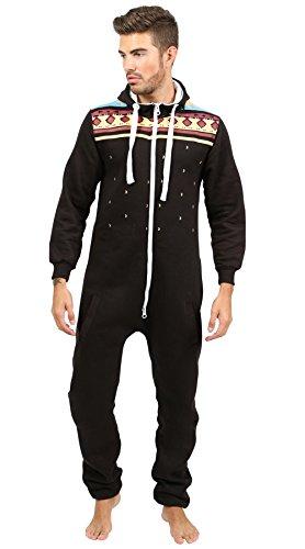 newfacelook-stilvoll-herren-gedruckt-onesie-hoody-alle-im-ein-zip-kapuzenpullover-mer-jumpsuit-mediu