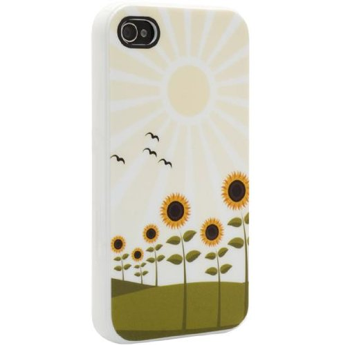 Venom Signature Soft Shell Case For iPhone 4/4S - Sunflowers