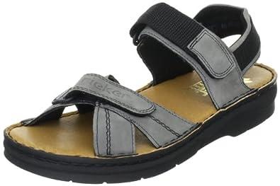 rieker 63551 damen sandalen outdoor sandalen schwarz schwarz 01 eu 36 schuhe. Black Bedroom Furniture Sets. Home Design Ideas
