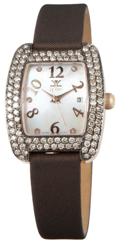 Le Vian Women's ZAG 105 Milano Rose Gold Chocolate Diamond Watch