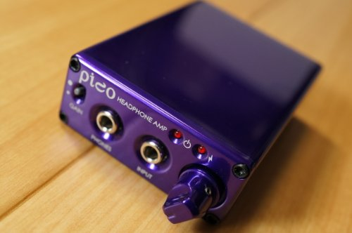 Headamp Pico Usb Dac(Digital Analog Converter)/Amp Portable Headphone Amp Purple
