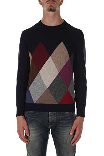 Henry Cottons 32 012 9008401 Maglione Uomo Blu S