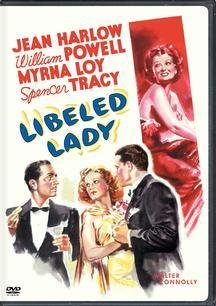 "Cover of ""Libeled Lady"""