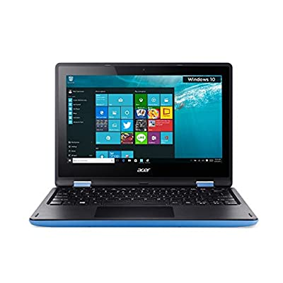 Acer Aspire R 11 R3-131T-P4AA 11.6-inch Laptop (Pentium N3700/4GB/500GB/Windows 10 Home/Intel HD Graphics), Blue