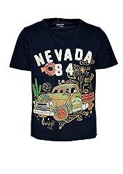 boys pepito t-shirt navy 2-3 Y