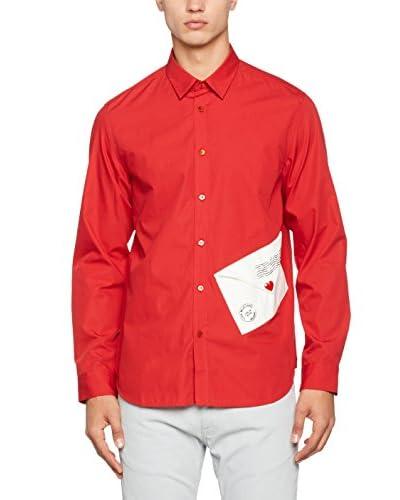 Love Moschino Hemd rot