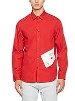 Love Moschino Camisa Hombre (Rojo)