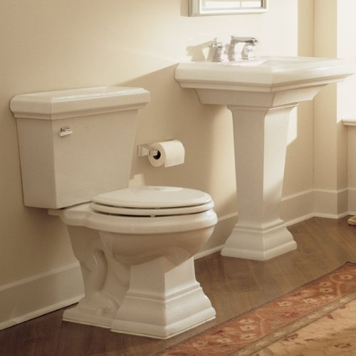 Purchase American Standard 0790.008.021 Town Square 24-Inch Pedestal Sink Top with 8-Inch Faucet Spa...