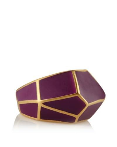 Isharya Purple Frost Louvre Ring