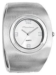 Marciano Women's | Rounded Fashion Silver-Tone Bangle | HA0244
