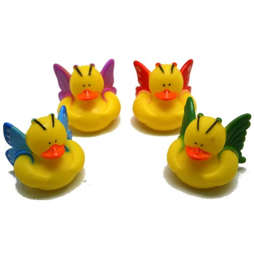 12 Butterfly Rubber Ducks front-1038059