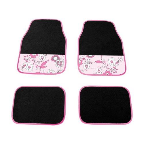 Fußmatten-Set Pink Flower