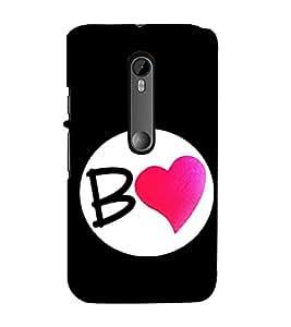 Love Heart 3D Hard Polycarbonate Designer Back Case Cover for Motorola Moto G3 :: Motorola Moto G (3rd Gen) :: Motorola Moto G (Gen 3) :: Motorola Moto G Dual SIM (3rd Gen) :: Motorola Moto G3 Dual SIM
