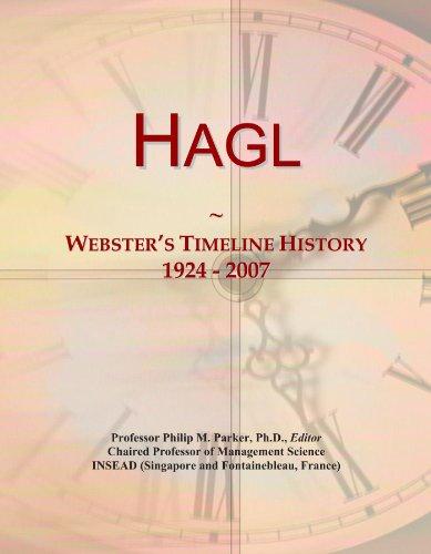 Hagl: Webster's Timeline History, 1924 - 2007