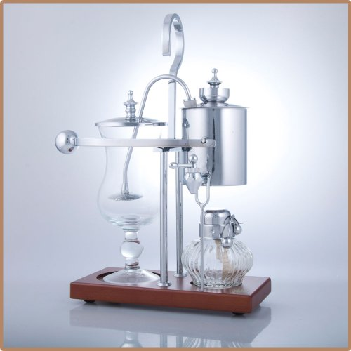 Coffee Master Royal Vienna Balance Coffee Maker / Machine (Silver)