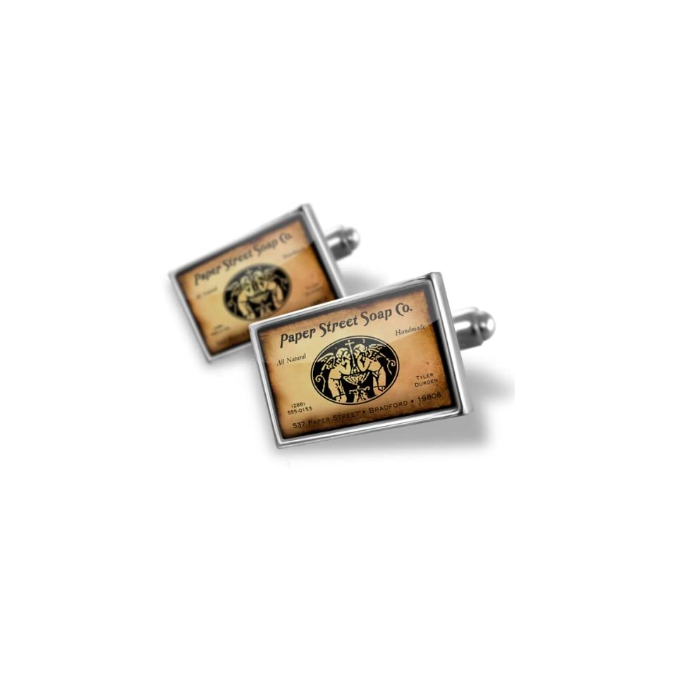 2cffca6665ff6 Neonblond Cufflinks Paper Street Soap Co. Fight Club cuff links for ...