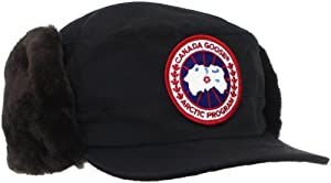 Canada Goose Men's Beaver Fur Classique Hat(One Size, Black)