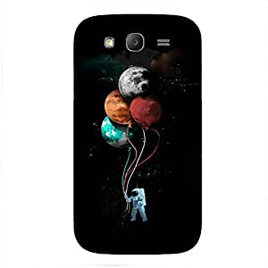 Back cover for Samsung Galaxy Grand Planet Astronut