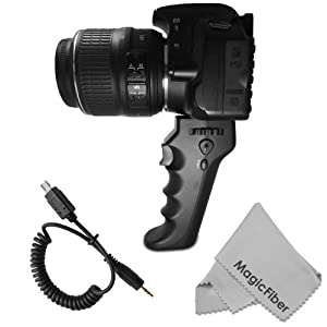 Amazon Com Camera Pistol Grip With Trigger For Shutter