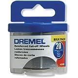 Dremel 426B 20 Piece 1-1/4-Inch Reinforced Rotary Tool Cut-Off Wheels