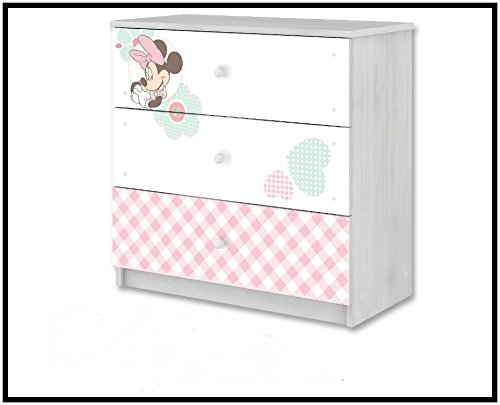 Cassettiera di Bebe Bella Disney minnie mouse