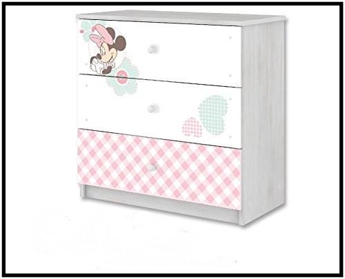 Cassettiera di Bebe Bella Disney minnie mouse