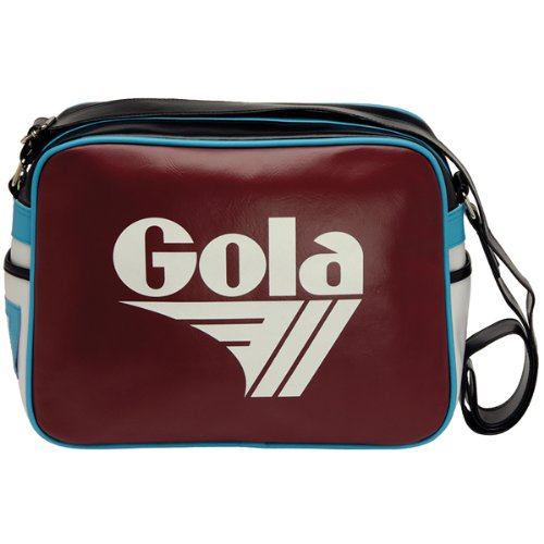 Original Gola Redford Classic Retro 70s Messenger Shoulder Bag - Ideal for West Ham, Villa, Burnley fans