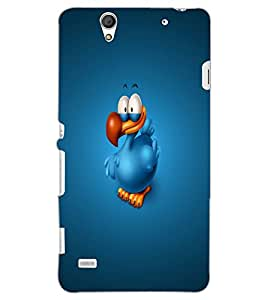 SONY XPERIA C4 DUCK Back Cover by PRINTSWAG
