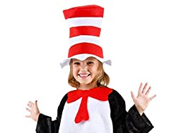 Bliss Pro\'s Custom CHILDREN\'S Dr. Seuss\'s Cat in the Hat, Hat + Bow Tie
