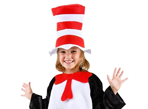 Bliss Pro's Custom CHILDREN'S Dr. Seuss's Cat in the Hat, Hat + Bow Tie (Cat In The Hat Accessories)