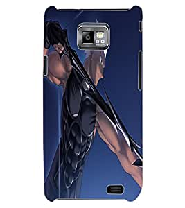 ColourCraft The Archer Design Back Case Cover for SAMSUNG GALAXY S2 I9100