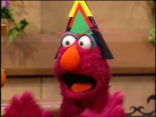 Baby Bear....Triangle Lover of the Day? (Sesame Street Baby Bear compare prices)